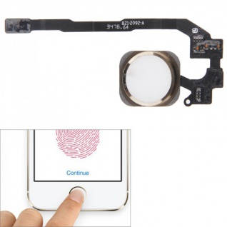 Apple iPhone 5S Home Button Finger Touch ID Sensor Flex Kabel Zubehör Homebutton