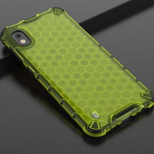 Für Samsung Galaxy A10 A105F Schock Hybrid Silikon TPU Grün Tasche Hülle Etuis