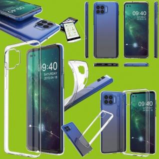 Für Motorola Moto G 5G Plus Silikon TPU + H9 Glas Handy Tasche Hülle Etuis Case