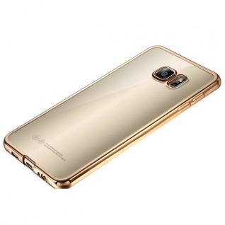 Premium TPU Schutzhülle Gold für Samsung Galaxy S7 G930 G930F Tasche Hülle Case