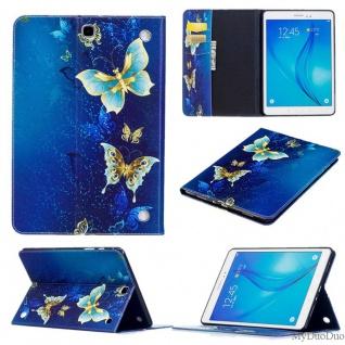 Für Samsung Galaxy Tab S5e T720F T725F Motiv 38 Tasche Kunst Leder Hülle Etuis