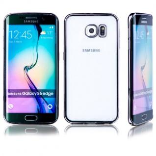 Premium TPU Schutzhülle Schwarz für Samsung Galaxy S6 Edge G925 G925F Tasche Neu