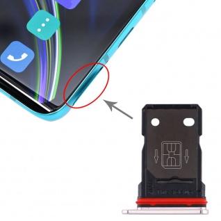 SIM Karten Halter + SIM Karten Halter für OnePlus 8 Silber Schlitten Sim Tray