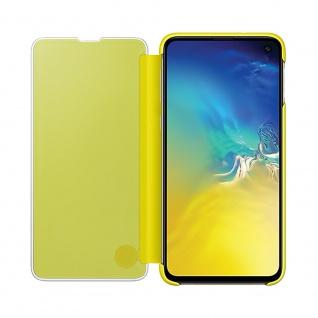 Samsung Flip Tasche Clear View EF-ZG970CYEGWW für Galaxy S10e G970F Cover Gelb - Vorschau 3