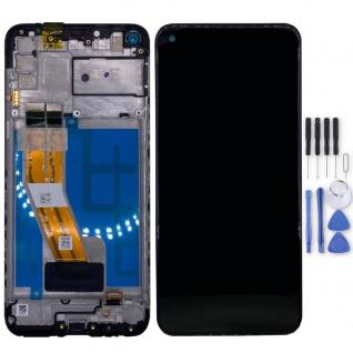 Samsung Display LCD Kompletteinheit für Galaxy M11 GH81-18736A Schwarz