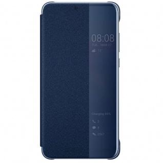 Original Huawei Smart View Flip Cover Blau für P20 Lite Tasche Hülle Case Etui