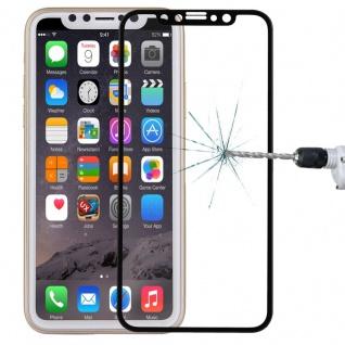 0, 3 mm H9 Hart Glas Schwarz Folie für Apple iPhone X / XS Schutz Hülle