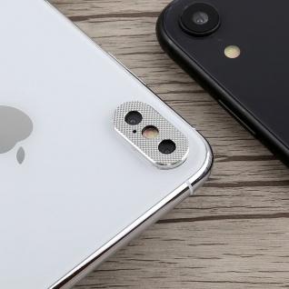 Kamera Cam Schutz Protection Ring für Apple iPhone XS 5.8 Zoll Silber 2Pcs - Vorschau 2