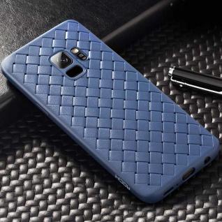 Original ROCK Wave Silikon für Samsung Galaxy S9 Plus G965F Tasche Hülle Blau