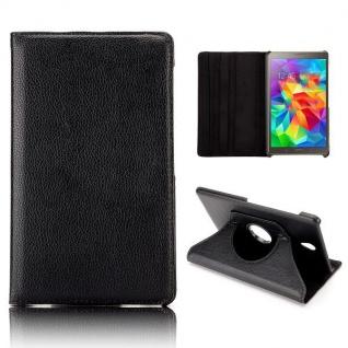 Schutzhülle 360 Grad Schwarz Tasche für Samsung Galaxy Tab S 8.4 T700 Zubehör