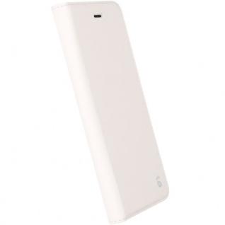 Krusell Malmö FolioCase Tasche Hülle für Apple iPhone 7 Plus Schutzhülle Weiss