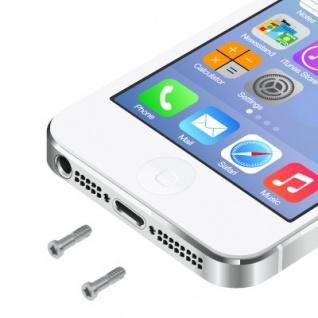 Pentalobe Torx Gehäuse Schrauben für Apple iPhone 5 5s Backcover 2 Stück Silber - Vorschau