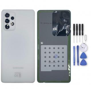 Samsung Akkudeckel Akku Deckel Batterie Cover Galaxy A72 GH82-25448D Weiß