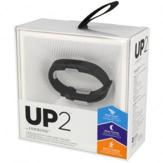 Jawbone Armband UP 2 Fitness Health Monitor schwarz Fitnesstracker Sport Armband