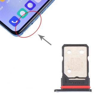 Für OnePlus 9 SIM + SIM Karten Card Tray Halter Adapter Blau Ersatz Reparatur