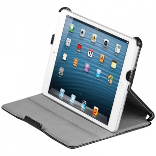 Original Goobay Schutzhülle Schwarz für Apple iPad Mini u. Mini 2 Retina + Folie