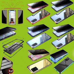 Magnet / Glas Case Bumper Privacy Mirror Tasche Case Hülle Zubehör für Handy Neu