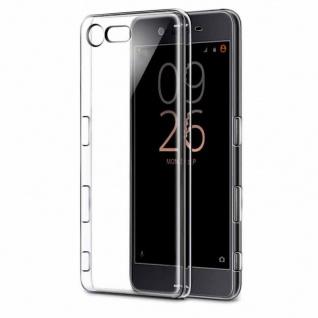 Schutzhülle TPU Transparent Tasche für Sony Xperia X Compact F5321 Hülle Cover