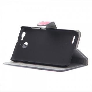 Schutzhülle Muster 36 für Huawei P9 Bookcover Tasche Case Hülle Wallet Etui Neu - Vorschau 2