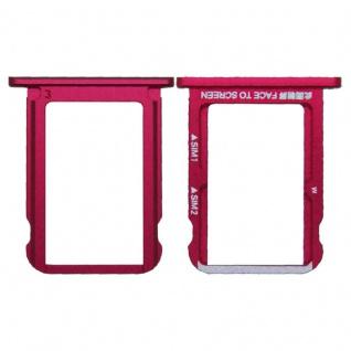 Für Xiaomi Mi A2 / Mi 6X Karten Halter Sim Tray Schlitten Holder Ersatzteil Rot