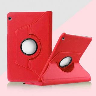 Für Huawei MediaPad M5 8.4 Tasche Hülle Case Cover Etui Schutz Rot Schutz Neu