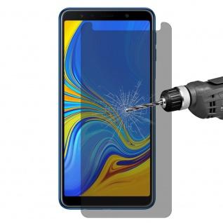 Für Samsung Galaxy A7 2018 0.26 mm Privacy Anti glare Hartglas Display Schutz - Vorschau 3