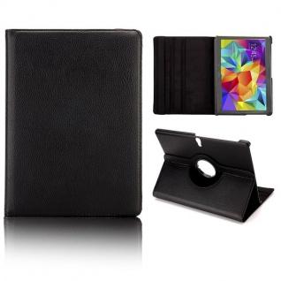 Schutzhülle 360 Grad Schwarz Tasche für Samsung Galaxy Tab S 10.5 T800 Zubehör