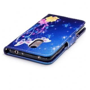 Für Huawei P20 Kunstleder Tasche Book Motiv 37 Schutz Hülle Case Cover Etui Neu - Vorschau 4