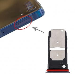 Für Motorola Edge Dual Sim / SD Karten Halter Schwarz Ersatzteil Zubehör