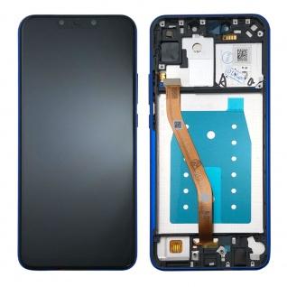 Für Huawei P Smart Plus Display Full LCD Touch mit Rahmen Reparatur Blau Ersatz - Vorschau 2