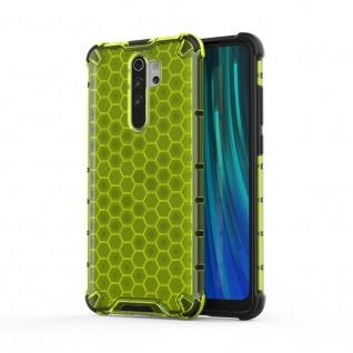 Für Xiaomi Redmi Note 8 Pro Schock Hybrid Silikon TPU Grün Tasche Hülle Etuis