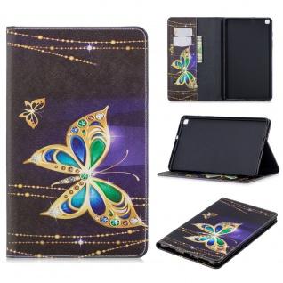 Für Samsung Galaxy Tab A 8.0 2019 T290 Motiv 2 Tablet Tasche Kunst Leder Etuis