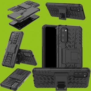Für Samsung Galaxy S20 Plus Hybrid 2teilig Outdoor Schwarz Handy Tasche Etuis