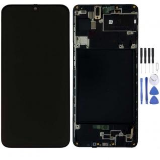 Samsung Display LCD Kompletteinheit für Galaxy A71 A715F GH82-22152A Schwarz