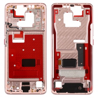 Mittelrahmen für Huawei Mate 20 Pro Rose Gold Front Housing LCD Gehäuse Ersatz