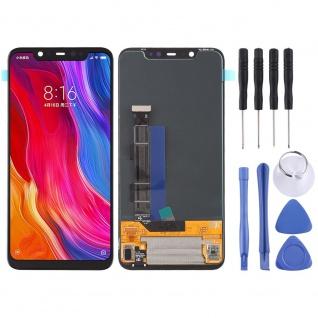 Für Xiaomi Mi 8 Reparatur Display LCD Komplett Einheit Touch Schwarz Ersatz Neu