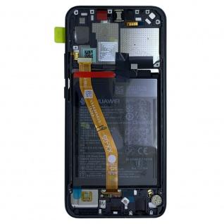 Huawei Display LCD Rahmen für P Smart Plus Service 02352BUE Schwarz Batterie Neu - Vorschau 2