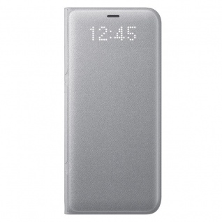 Samsung LED View Cover Schutzhülle EF-NG950PS für Galaxy S8 Etui Hülle Silber