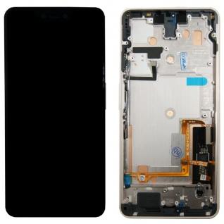 Für Google Pixel 3 XL Display Full LCD Touch Einheit Ersatzteil mit Rahmen Pink