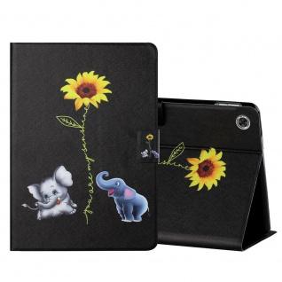 Für Lenovo Tab M10 Plus 10.3 X606F Motiv 6 Tablet Tasche Kunst Leder Hülle Etuis