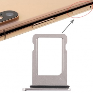 Für Apple iPhone XS 5.8 Zoll Sim Karten Halter Tray Weiß SD Card Ersatzteil