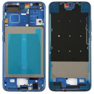 Gehäuse Rahmen Mittelrahmen Deckel für Huawei Honor 10 Blau Reparatur Ersatz Neu