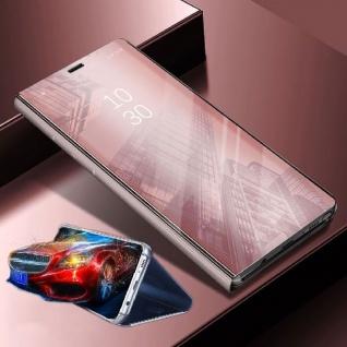 Für Xiaomi POCO Pocofone F1 Clear View Smart Cover Pink Tasche Hülle Wake UP Neu