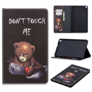 Für Samsung Galaxy Tab A 8.0 2019 T290 Motiv 1 Tablet Tasche Kunst Leder Etuis