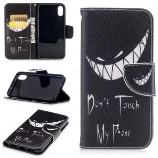 Tasche Wallet Motiv 32 für Apple iPhone X 5.8 Zoll Hülle Case Etui Cover Schutz