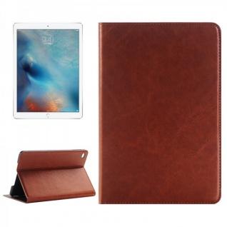 Schutzhülle Deluxe Braun Tasche für Apple iPad Pro 12.9 Zoll Hülle Case Cover
