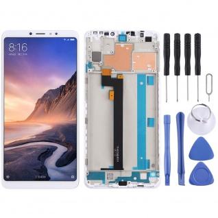 Für Xiaomi Mi MAX 3 Display Full LCD Touch Einheit mit Rahmen Reparatur Weiß Neu