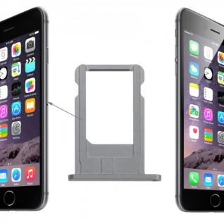 Sim Karten Halter Adapter Grau Sim Tray für Apple iPhone 6 4.7 und 6 Plus 5.5