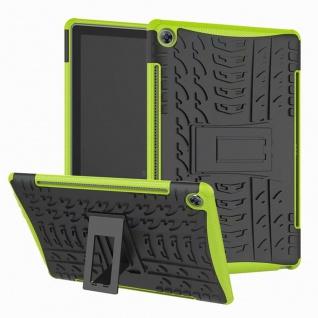 Für Samsung Galaxy Tab A 10.1 T510 T515 2019 Hybrid Grün Tasche Etuis Hülle Case