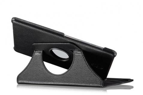 Für Samsung Galaxy Tab S4 10.5 T830 T835F Schwarz 360 Grad Kunstleder Tasche Neu - Vorschau 2